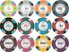 NEW 300 PC Poker Knights 13.5 Gram Clay Poker Chips Bulk Lot