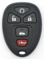 2007 07 Pontiac G6 Keyless Entry Remote - 5 Button W/ Remote