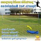 Portable 3-IN-1Training Beach Volleyball Badminton Tennis