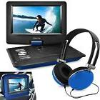 "Ematic 10"" Portable DVD Player with Headphones and Car"