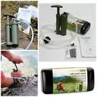 Portable Mini Army Soldier Water Filter Purifier