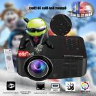 Portable Mini WIFI Android LCD LED Projector 1080P HD Home