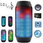 Portable PULSE LED Light Stereo Wireless Bluetooth Speaker