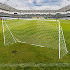 Portable Soccer Goal 12' x 6' Football w/Net Straps Anchors
