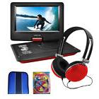 "Ematic 10"" Portable Swivel Screen DVD Player w/ Headphones"