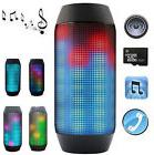 Portable Wireless Bluetooth4.0 PULSE LED Light Stereo