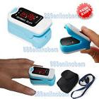Free Pouch&Lanyard Finger Pulse Oximeter Blood Oxygen SpO2