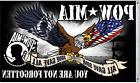POW MIA POLYESTER 3' X 5' FLAG - UNITED STATES - ALL GAVE