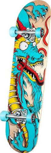 Powell Golden Dragon Caballero Art 2 Complete Skateboard 3c289f7aae4