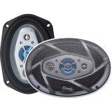 "Supersonic 6x9"" 1200W Pr 8Way Car Spkrs"