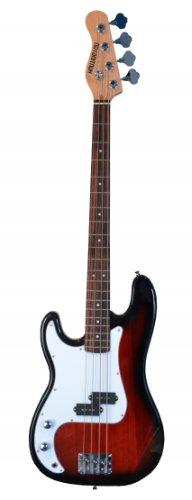 """Full Size 43"""" Precision P Electric Bass Guitar Red with Gig"""