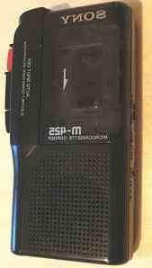 Sony Pressman M-425 Microcassette Recorder