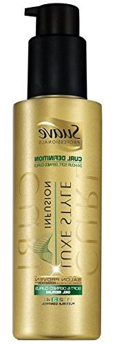 Suave Professionals Defined Curls Gel Serum, Luxe Styling 4.