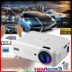 7000 Lumens Projector 1080P HD LED 3D Home Cinema Theater