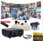 3000lumens 1080P LED Projector Full HD 3D Home Theater