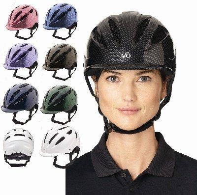 Ovation Women's Protege Riding Helmet *NEW* Navy, S/M,