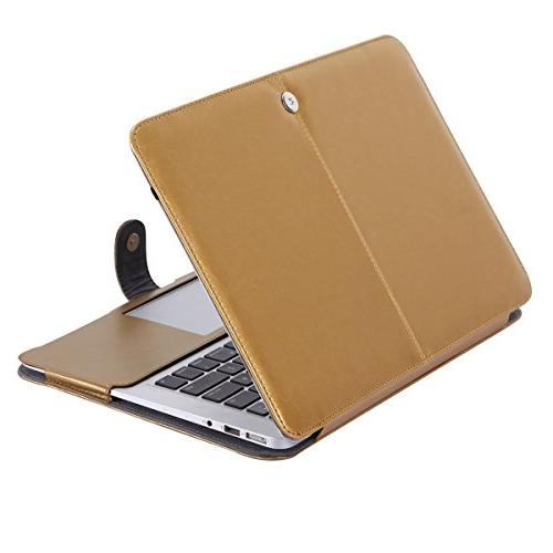 Mosiso Premium PU Leather Folio Case Cover with Stand