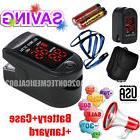 Pulse Oximeter Fingertip CMS50DL Black Blood Oxygen SpO2