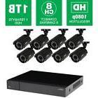 Q-SEEHeritageHD Series 8-Channel 1080p 1TB Video