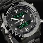 INFANTRY Mens Digital Quartz Wrist Watch Black Sport