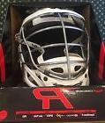 Cascade R Lacrosse Helmet New In Box White With Chrome Steel