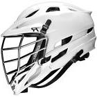 Cascade R Lacrosse Helmet - Black/Black Chrome Mask Black