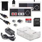 7in1 Kit Clear Case Box+USB Controller+HDMI Cable+Charger