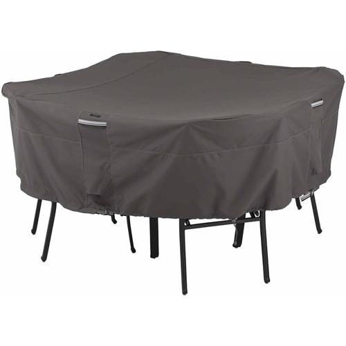 Classic Accessories Ravenna Square Table and Chair Cover,
