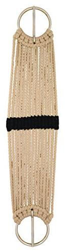 Weaver Leather Rayon 15 Strand Pony Cinch, White, 24-Inch
