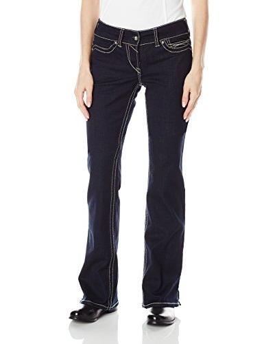 Ariat Women's R.E.A.L. Riding Mid Rise Boot Cut Jean,