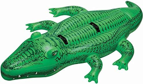 "Intex Giant Gator Ride-On, 80"" X 45"", for Ages 3"