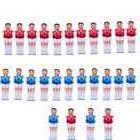 26 PCS Red & Blue Foosball Men Man Table Soccer player  USA