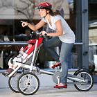 Red Mom & Baby Parents Child Two-Way Bicycle Baby Seat