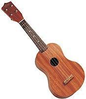 Natural Red Wood Toy Ukulele 21