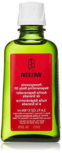Weleda Regenerating Body Oil Pomegranate - 3.4 fl oz