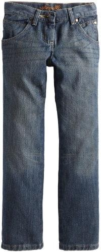 Wrangler Big Boys' Relaxed Fit Boot Cut Jeans, Night Sky, 16