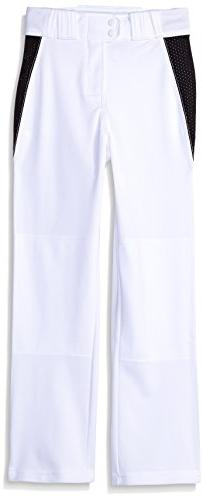 Rawlings Youth Relaxed Fit V-Notch Insert Baseball Pant,