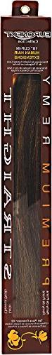 Remy 18 Inch Clip-In Hair Extensions Toffee Brown