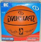 NEW SPALDING REPLICA NBA OFFICIAL SIZE BASKETBALL