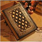 Retro Vintage Journal Diary Notebook Leather Blank Hard