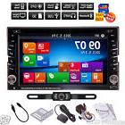 "Reverse Camera+GPS 6.2"" Double 2Din Car Stereo Radio DVD"
