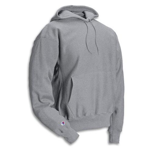 Men's Men' Reverse Weave Fleece Pullover Hoodie,Silver Grey