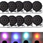 New 10X 18 RGB LED Stage Light Disco DJ Bar Effect UP