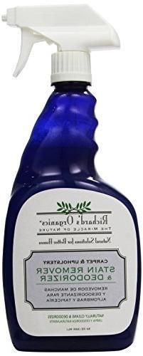 Richard's Organics Stain Remover and Odor Deodorizer Spray