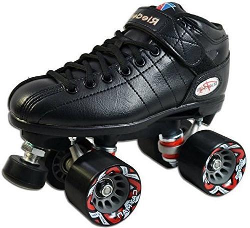 Riedell Skates R3 Roller Skate,White,10
