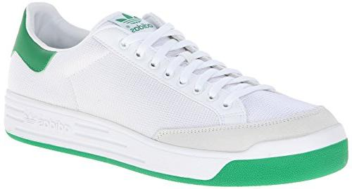 adidas Originals Men's Rod Laver Sneaker, White/White/