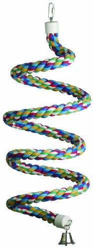 Super Bird Creations 1-1/4-Inch by 97-Inch Rope Bungee Bird