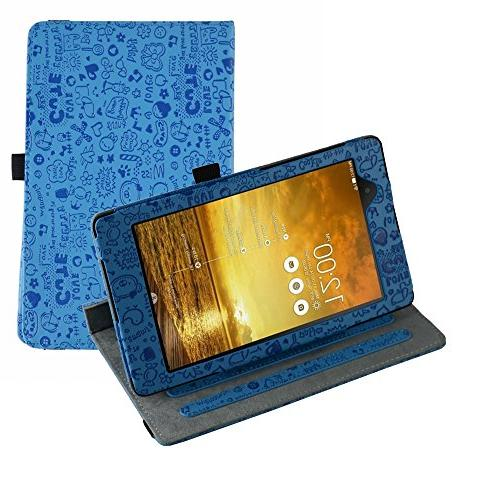 360 Degree Rotating Stand With Cute Lovely Pattern Case for