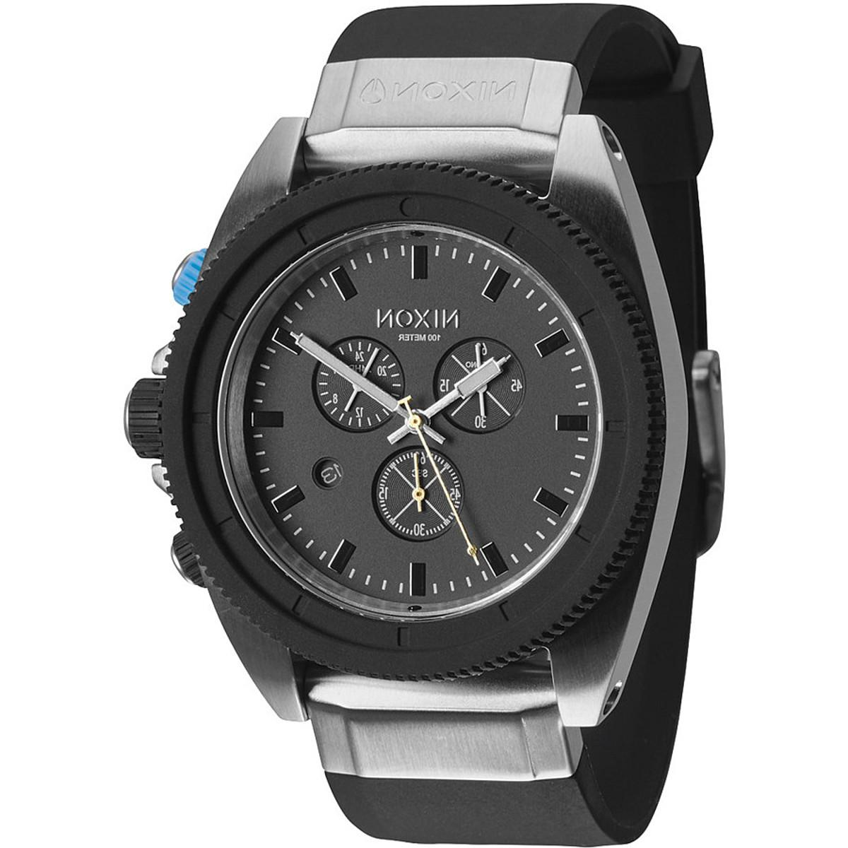 Nixon The Rover Chrono Watch - Men's Midnight GT, One Size
