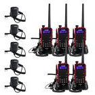5X Retevis RT5 Handheld Walkie Talkie VHF/UHF 5W 128CH 2-Way